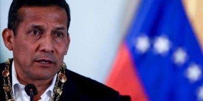 Imagen de archivo del presidente de Perú, Ollanta Humala. EFE/Archivo
