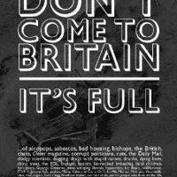 """""""No venga. Estamos llenos"""". Foto:The Guardian"""