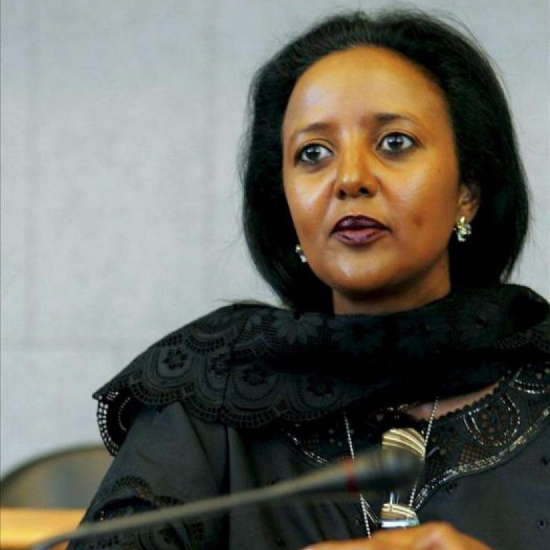 Amina Mohamed, candidata keniana a dirigir la Organización Mundial del Comercio (OMC). EFE/Archivo