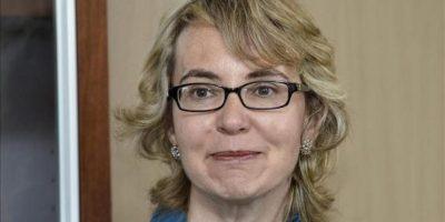 En la imagen, la excongresista de EE.UU. Gabby Giffords. EFE/Archivo