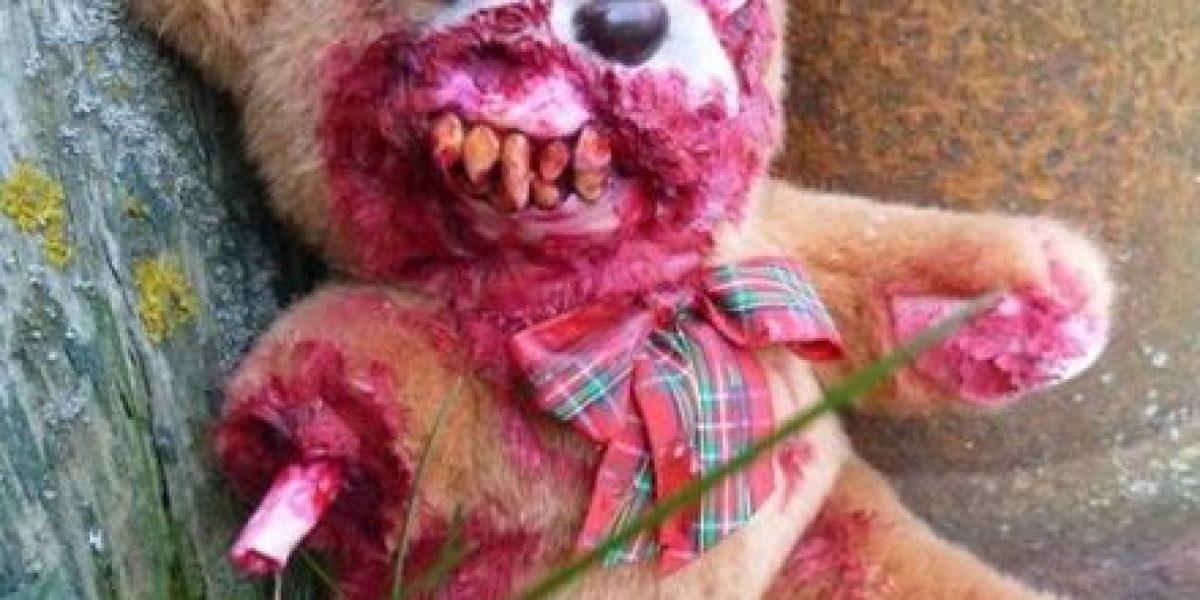 La versión zombi de ositos de peluche