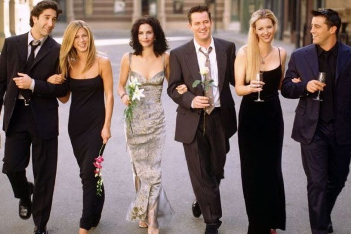 Ross, Rachel, Monica, Chandler, Phoebe y Joey – FRIENDS Foto: Internet