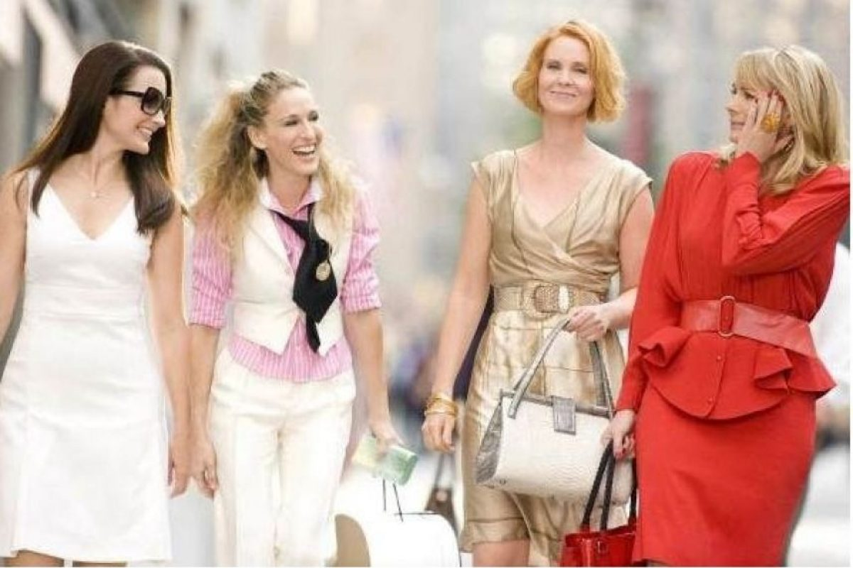Carrie Bradshaw, Charlotte York, Samantha Jones y Miranda Hobbes – Sex & the city Foto: Internet