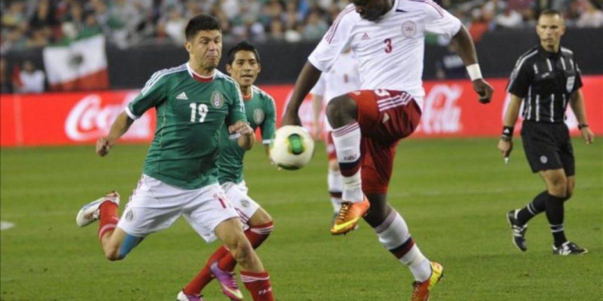 1-1. México y Dinamarca no pasaron del empate