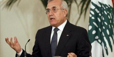 El presidente libanés, Michel Suleiman. EFE/Archivo