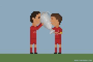 Steven Gerrard y la Champions League de 2005. Foto:Matheus Toscano