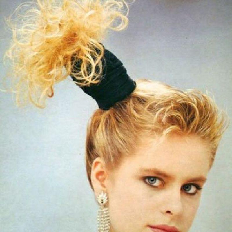 Minimalista peinados de los años 80 Galería De Tutoriales De Color De Pelo - Los peinados más WTF de los años 80   Publimetro Colombia