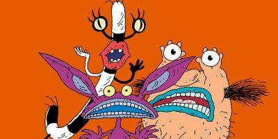 """El retorcido grafismo del dúo Klasky- Csupo, tuvo su mayor esplendor con la escatológica serie 'Ahhh, Monstruos!"""" , transmitida en Nickelodeon en los años 90 Foto:Nickelodeon"""