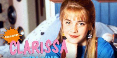 Clarissa y sus dilemas, los extraños platos de su madre y el amigo que entraba por su ventana, fueron los temas de conversación de muchos jóvenes en esta década. Foto:Nickelodeon