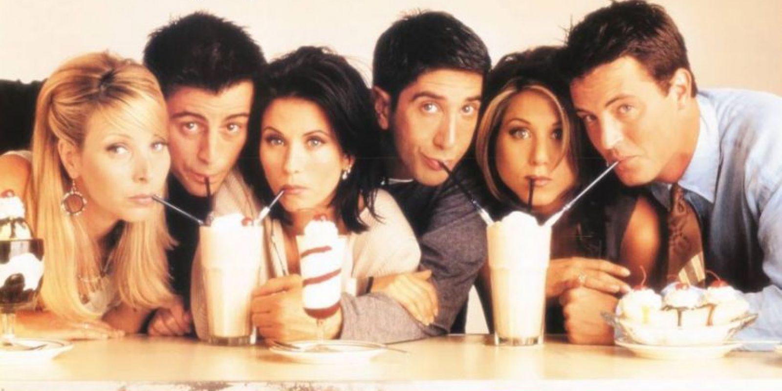 Como no olvidarse de 'Friends', esos 6 amigos que cautivaron a medio mundo en los años 90, con sus andanzas en Nueva York. Foto:Warner