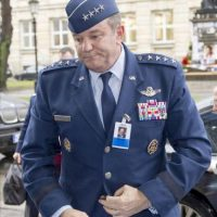 El general de la Fuerza Aérea Philip Breedlove, de 57 años, es desde el pasado julio el jefe de la Fuerza Aérea estadounidense en Europa y África. EFE/Archivo