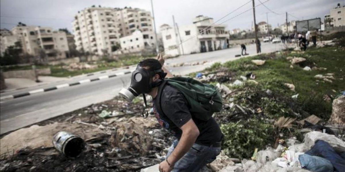 Decenas de palestinos heridos tras las protestas en varias partes de Cisjordania