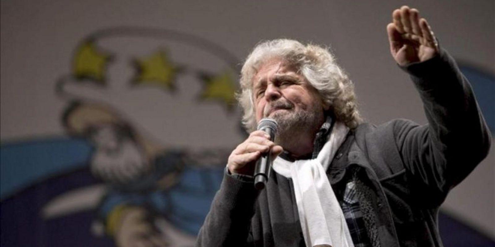 El cómico Beppe Grillo. EFE