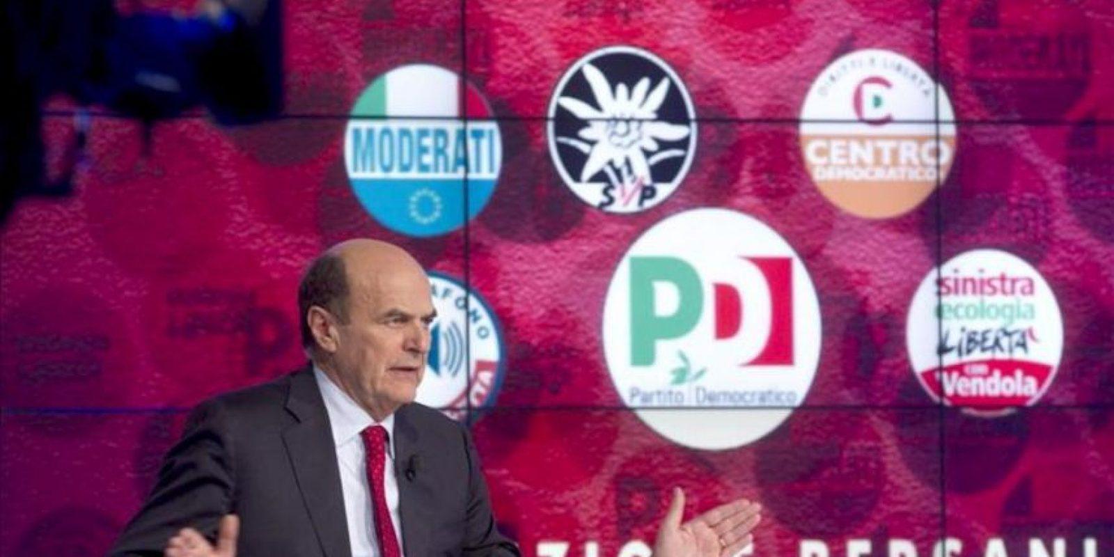 El líder del Partido Democrático (PD), Pier Luigi Bersani. EFE