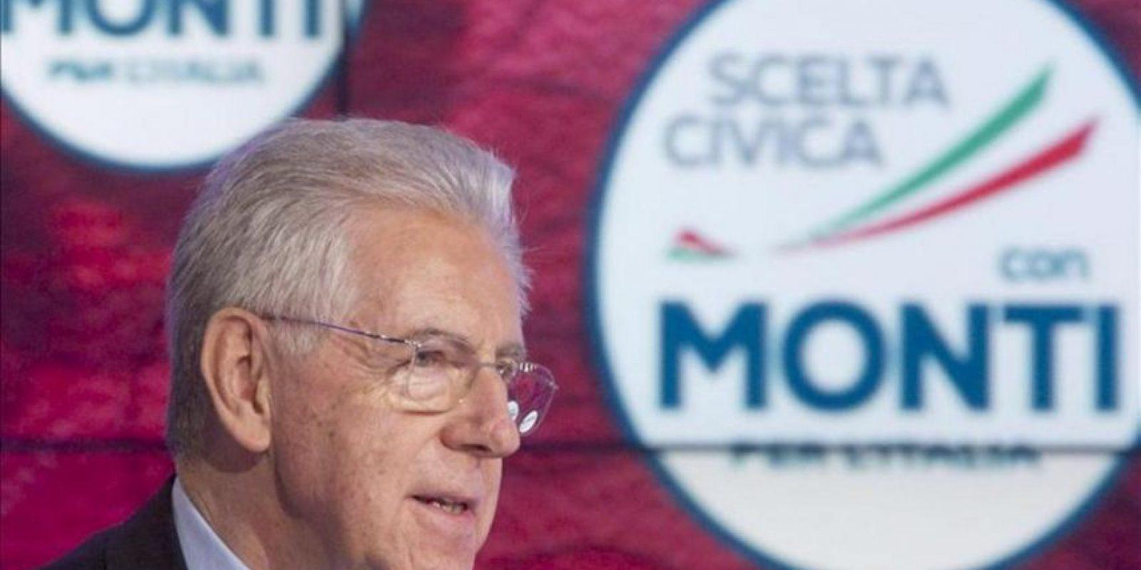 Monti pidió no volver al riesgo de acabar como Grecia. EFE