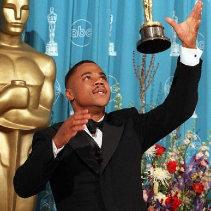 """Cuba Gooding Jr. ganó el Óscar como Mejor Actor de Reparto en 1996 por su papel de deportista famoso en """"Jerry McGuire"""". Luego de actuar en """"Pearl Harbor"""" y su spin- off """"Hombres de Honor"""", no volvió a vérsele en alguna película de buena calidad. Foto:AFP"""