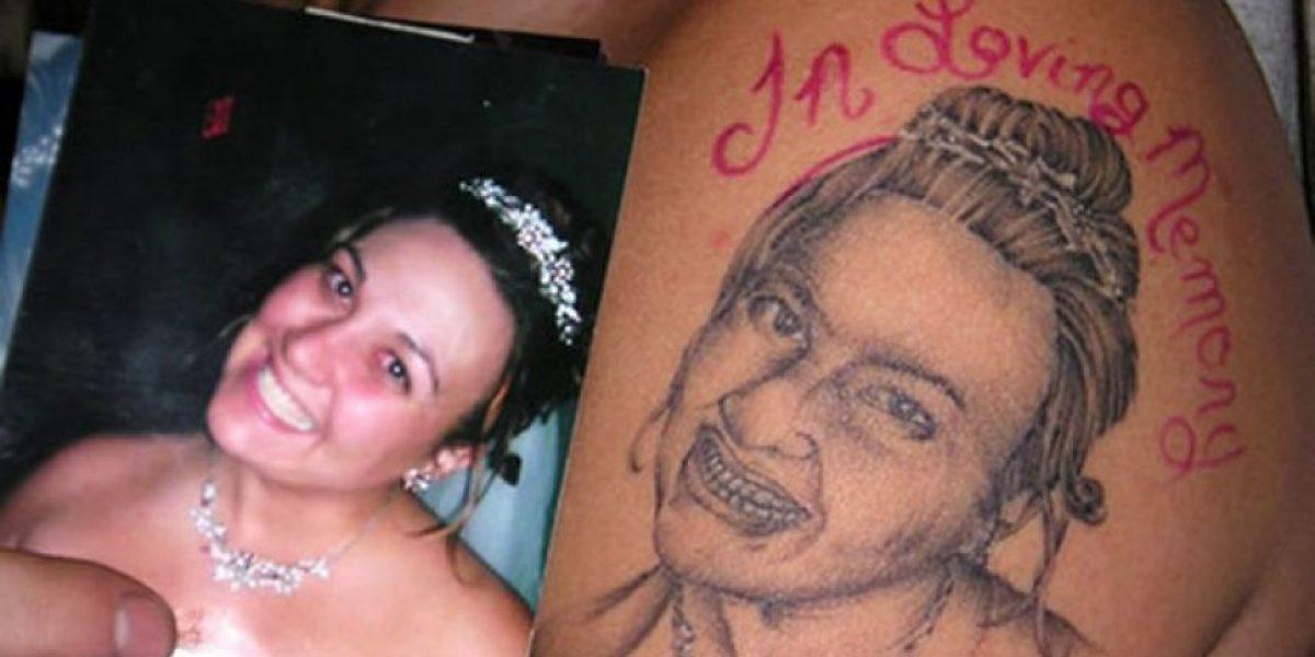 Arreglaron el peor tatuaje del mundo