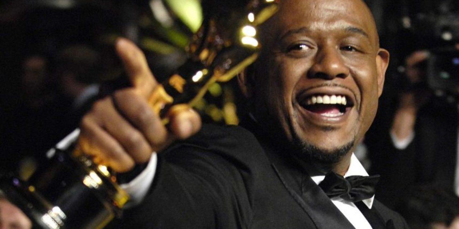 """Forest Withaker hizo una soberbia interpretación del dictador de Uganda Idi Amín en 'El Último Rey de Escocia', lo que le valió el Óscar como Mejor Actor en 2006. Pero de ahí en adelante ha actuado en películas poco recordadas e incluso malas, como """"Legión de Ángeles"""". Foto:Oscars.org"""