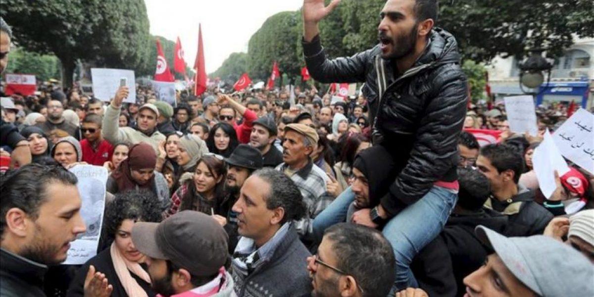 Miles de tunecinos reclaman conocer la verdad sobre el asesinato de Bel Aid