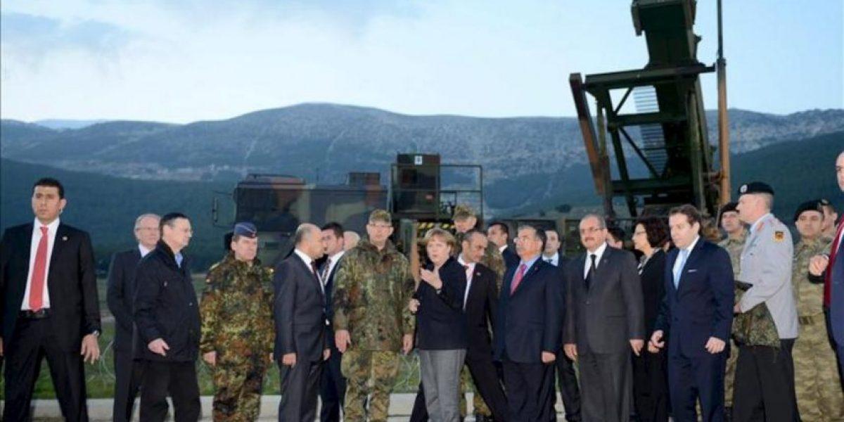 La canciller alemana inició hoy una visita a Turquía