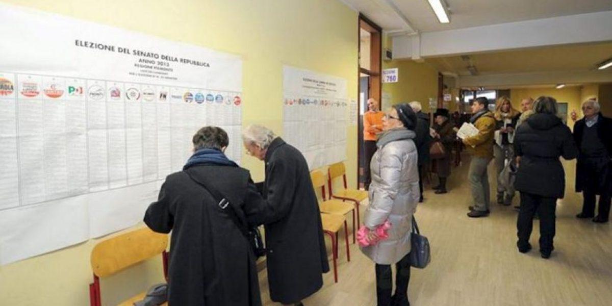 Los italianos votan con el temor de una situación de ingobernabilidad