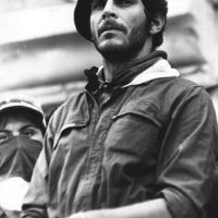 Carlos Pizarro: nació en Cartagena y murió asesinado por las Autodefensas Unidas de Colombia en Bogotá. Tenía 39 años, fue comandante máximo del M-19 y en el momento de su muerte era candidato presidencial por el partido Alianza democrática M-19. Foto:Colectivo Carlos Pizarro