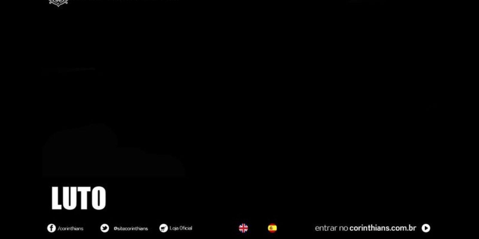 Así aparece la página del club brasilero