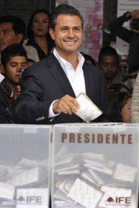Enrique Peña Nieto: nacido en Atlacomulco. 46 años. Presidente de México desde 2012. Foto:Getty Images