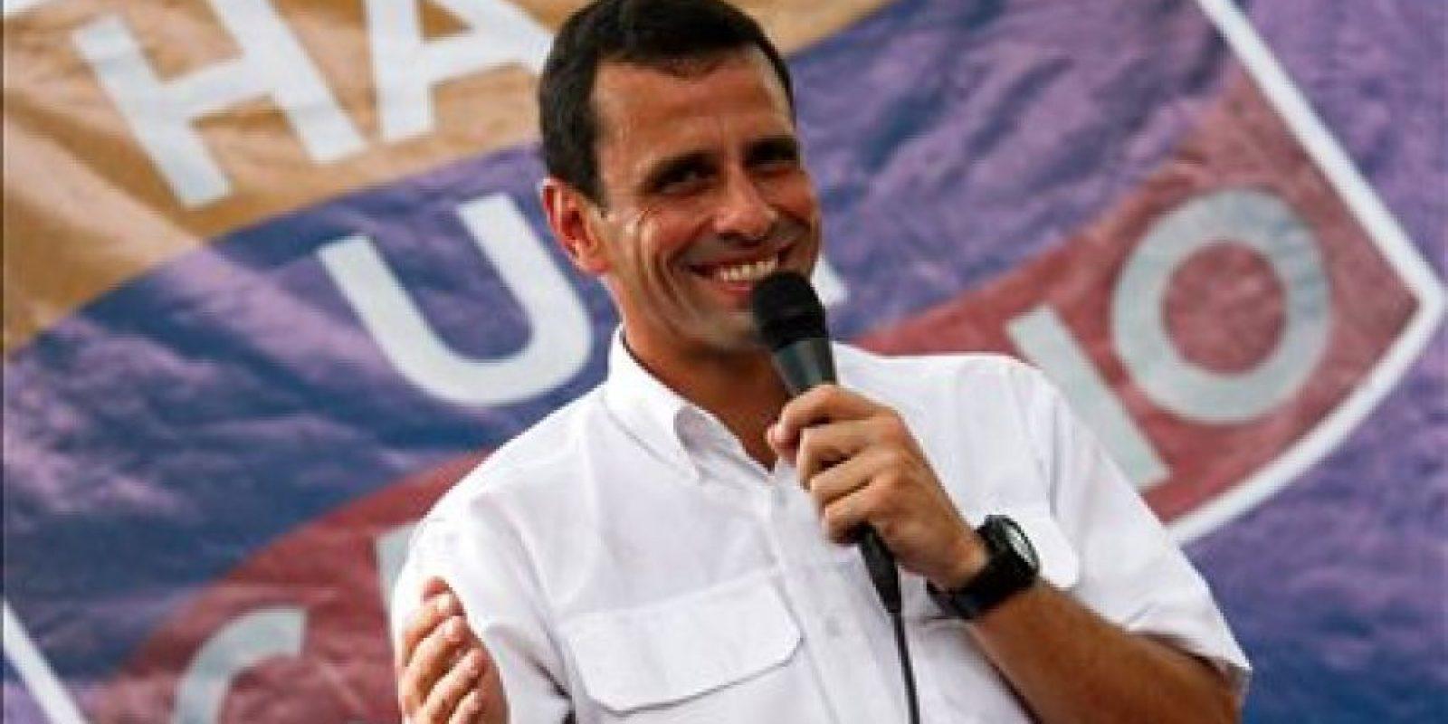Henrique Capriles: nacido en Caracas. 40 años. Gobernador del Estado Miranda y líder de la oposición venezolana. Foto:EFE