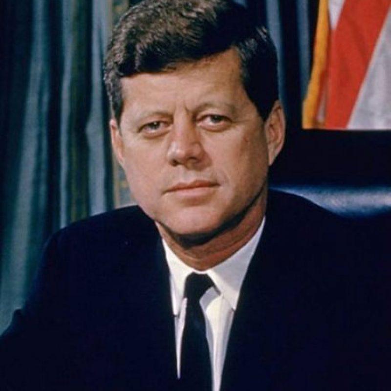 John F. Kennedy: nacido en Brookline, Massachusetts. Asesinado en 1963, a los 46 años y cuando llevaba dos años de presidente de Estados Unidos. Foto:Cortesía