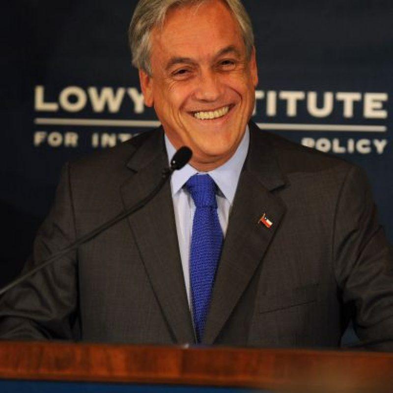 Sebastián Piñera: nacido en Santiago de Chile. 63 años. Presidente de Chile desde 2010. Foto:Getty Images