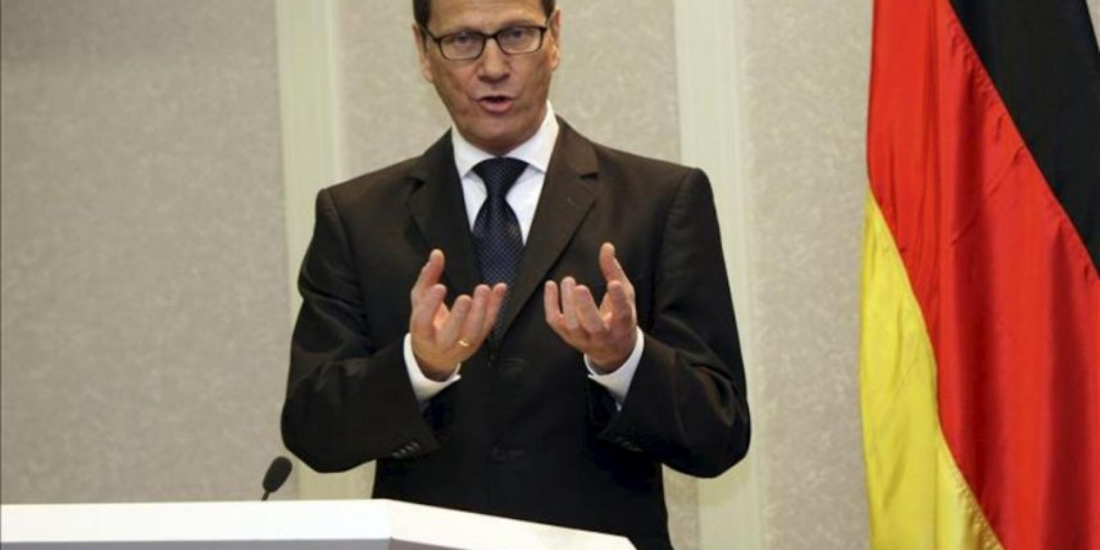 El ministro alemán de Exteriores, Guido Westerwelle. EFE/Archivo