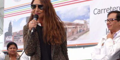 La actriz Amparo Grisales será una de las adoptantes de caballos. Siempre se integró en este proceso de sustitución de vehículos de tracción animal. Foto:Diego Hernán Pérez/PUBLIMETRO