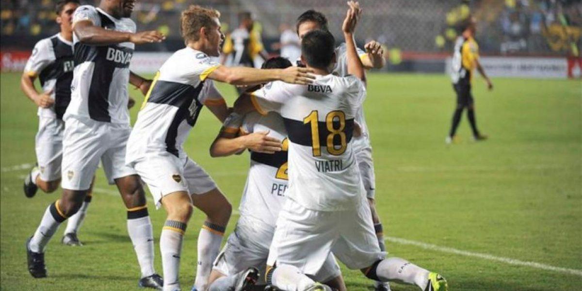 1-2. Boca consigue su primera victoria en la Libertadores ante el Barcelona