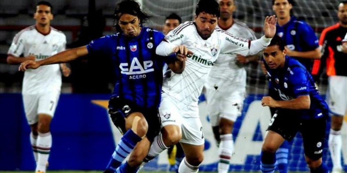 1-2. Fluminense derrota al Huachipato en Chile y lidera el grupo 8 de la Libertadores