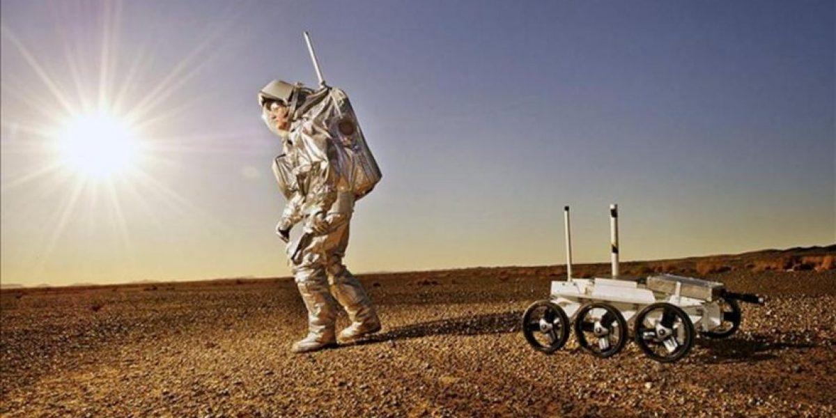 Un grupo de astronautas se aisla en el desierto marroquí para simular un viaje a Marte