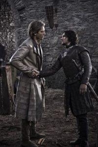 Nikolaj- Coster Valdau es Jaime Lannister, hijo de Twynn, y hermano de Cersei y Tyrion. Es apuesto, y todo un galán. Tiene una relación incestuosa con su hermana Cersei, y tres hijos con ella. A diferencia de su padre y su hermana, se lleva bien con Tyrion. Queda como prisionero de los Stark en la segunda temporada. Foto:HBO Latinoamérica