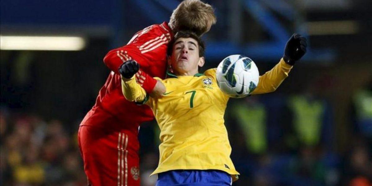 1-1. Fred evita la derrota de Scolari ante Capello