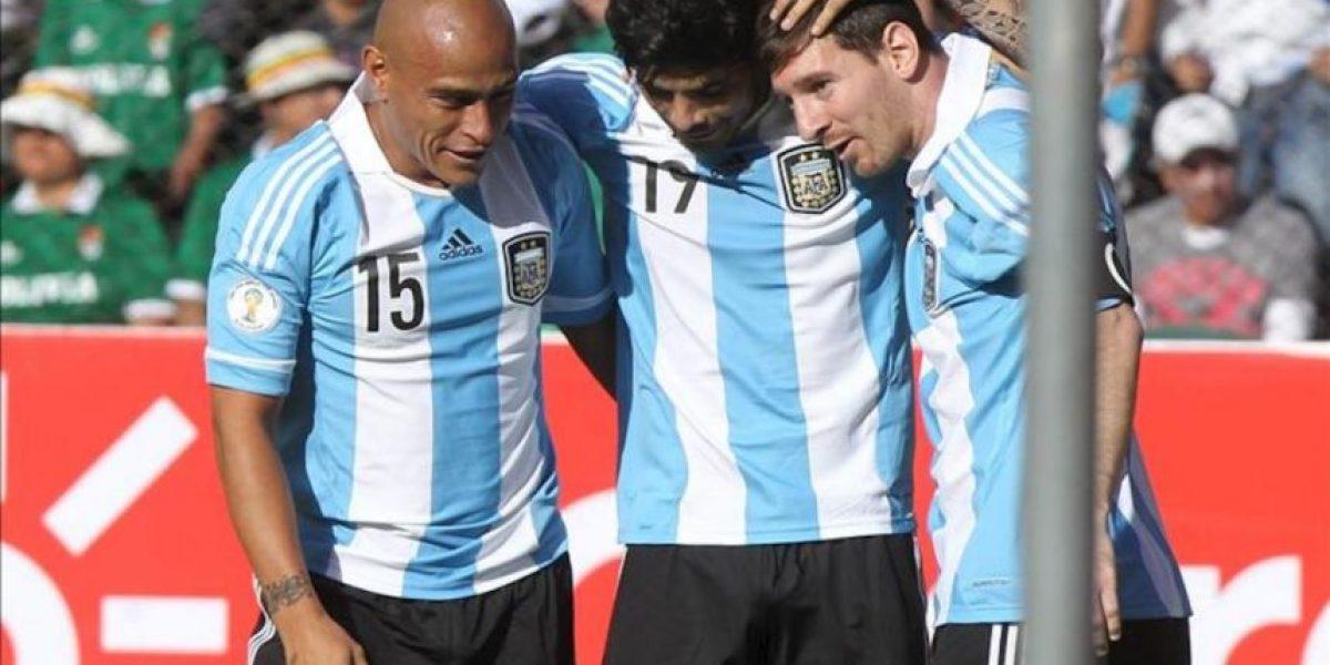 1-1.Argentina rescata un punto de La Paz y deja a Bolivia sin margen de error