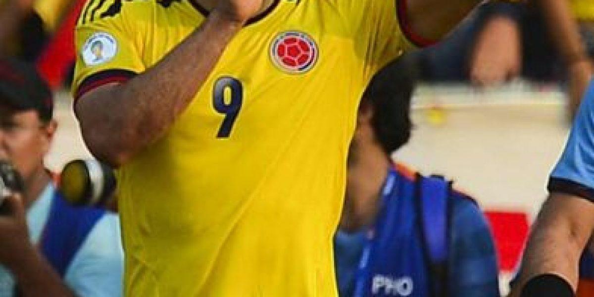 Cara a cara de las figuras : Falcao vs Rondón