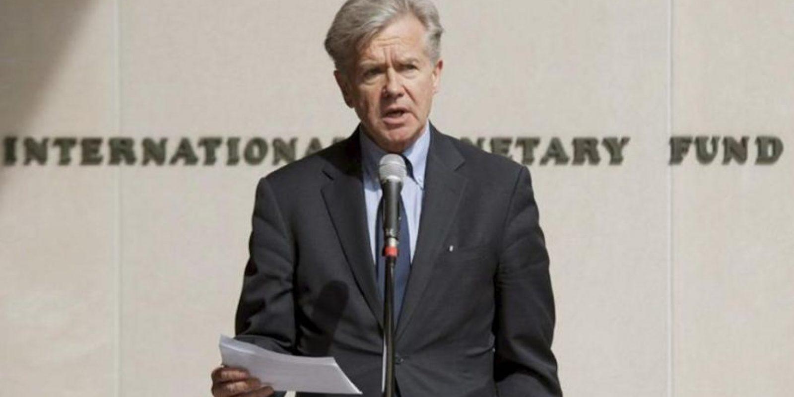 El portavoz del Fondo Monetario Internacional (FMI), Gerry Rice. EFE/Archivo