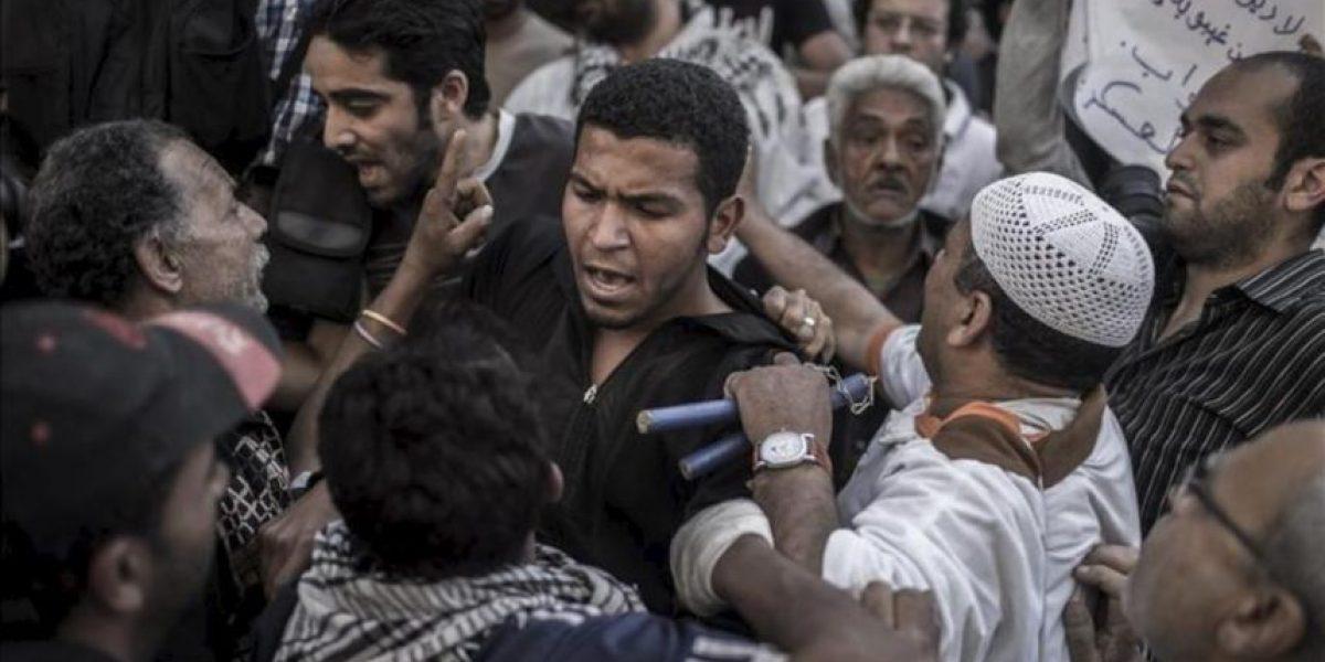 Estallan disturbios durante las protestas opositoras en El Cairo y Alejandría