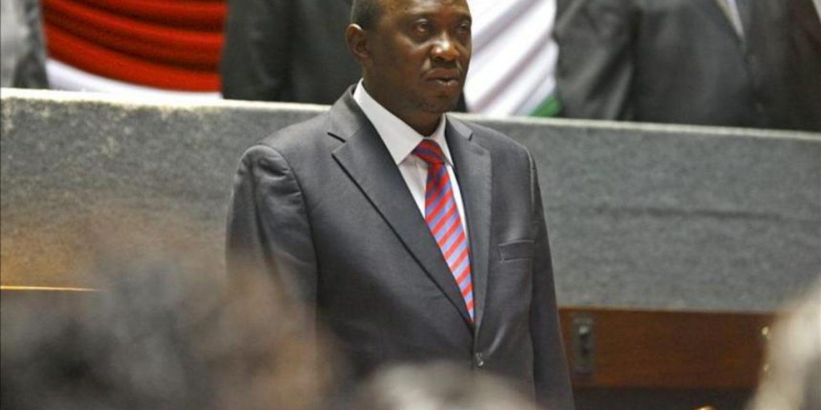 El Tribunal Supremo de Kenia confirmó hoy el triunfo de Uhuru Kenyatta, en la foto, en las elecciones presidenciales del pasado 4 de marzo. EFE/Archivo