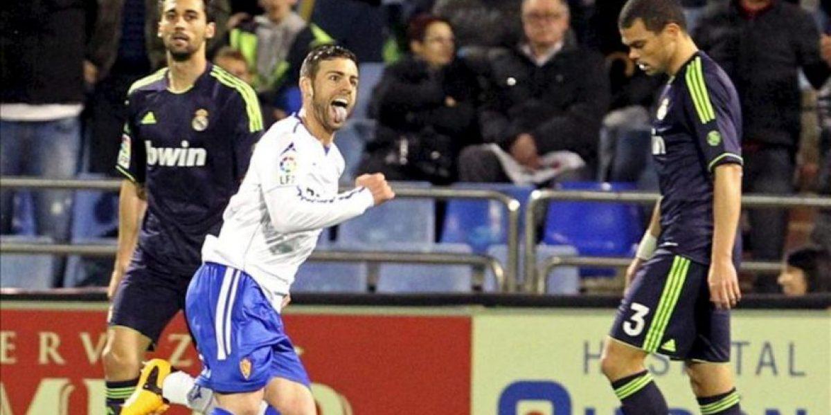 1-1. El Zaragoza arranca un punto a un Madrid que apretó demasiado tarde