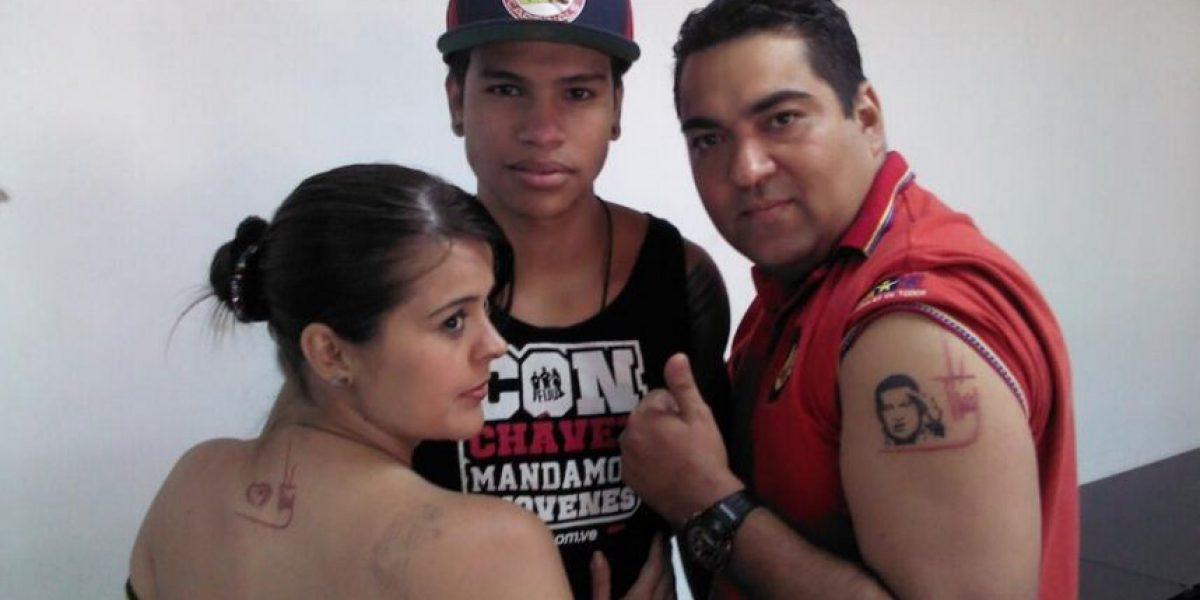 Una semana para tatuarse a Hugo Chávez