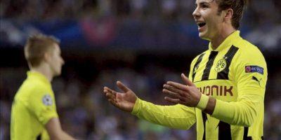 El centrocampista alemán del Borussia Dortmund Mario Götze. EFE/Archivo