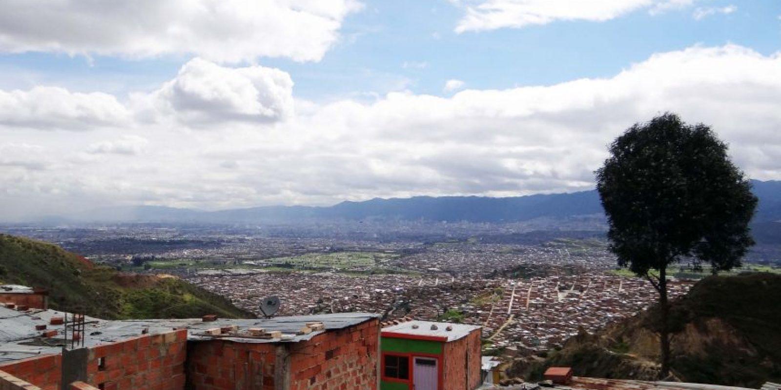 Desde este punto de la ciudad, en el barrio Mirador, en la localidad Ciudad Bolívar, se construiría un edificio de siete pisos de alto y el cual sería la estación de llegada del primer cable aéreo de transporte público. Foto:Diego Hernán Pérez /PUBLIMETRO