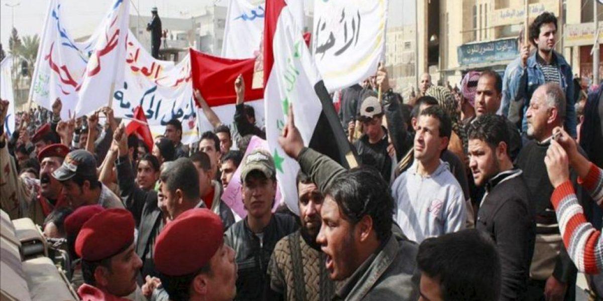 Aumentan a 41 los muertos en los choques entre los suníes y la policía en Mosul