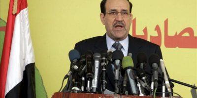 El primer ministro iraquí, Nuri al Maliki. EFE/Archivo