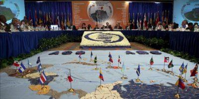 Vista general durante la reunión de cancilleres de la V Cumbre de miembros de la Asociación de Estados del Caribe (AEC), en Puerto Príncipe (Haití). EFE